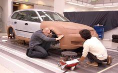 2003 Concept Car – Saab 9-3 Sport hatch modelling