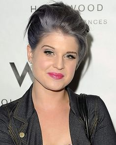 While Kelly Osbourne has also had her fair share of fun in the past, we have to assume that this look was achieved with the help of hair products.