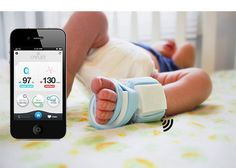 The Owlet Smart Sock sends info about your baby's vitals to your smart phone.