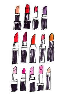 Illustrated beauty