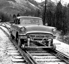 Buick Rail Inspection Car.