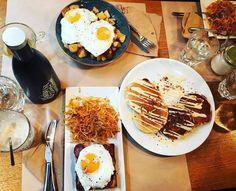 Τα 10+3 καλύτερα brunch της Αθήνας - www.olivemagazine.gr Brunch, Eggs, Breakfast, Ethnic Recipes, Travelling, Food, Places, Morning Coffee, Essen