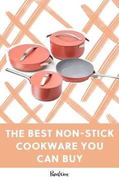 Non-stick cookware cleans easily reduces need for butter or oil. These are the best non-stick cookware brands on the market. French Kitchen Decor, Gold Kitchen, Country Kitchen, Vintage Appliances, Small Appliances, Home Appliances, Cooking Appliances, Appliance Cabinet, Kitchen Appliance Storage