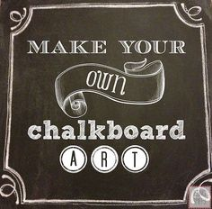 Channel your inner Van Gogh! Tips to make your own chalkboard art with Being Spiffy. Chalkboard Text, Kitchen Chalkboard, Chalkboard Lettering, Chalkboard Ideas, Chalkboard Paint, Thanksgiving Tafel, Thanksgiving Chalkboard, Chalk It Up, Chalk Art