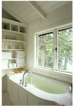 Lake house bath