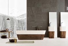 Lovely Luxurious Bathroom Designs by Neutra - Image 04 : Gray and White Contemporary Classic Bathroom