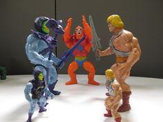 Annnnd GO! Only at MattyCollector.com #entertainment #toys #MOTU #Skeletor vs #HeMan