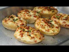 Patatas rellenas de bacon - YouTube