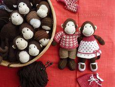 monkey business (Little Cotton Rabbits)