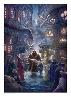 Limited Edition Signed Harry Potter and the by NucleusGallery, $150.00