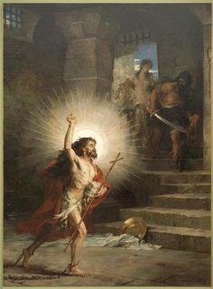Méditer sur la mission de Saint Jean Baptiste 560db2079aa5837f7764a288c45637da--saint-jean-jean-baptiste