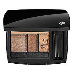 Lancôme Color Design 5 Shadow & Liner Palette in Chocolate Amande - matte nudes #sephora