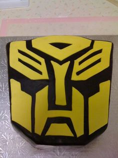 Transformers bumblebee cake More