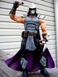 Oroku Saki - The Shredder (Teenage Mutant Ninja Turtles) Custom Action Figure