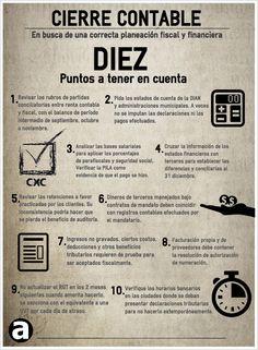 Cierre Contable, puntos a tener cuenta para una correcta planeación fiscal y financiera « Notas Contador