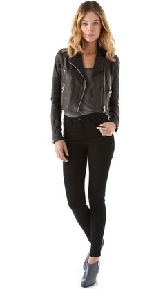 j brand leather jacket. almost perfect, minus the $1400 price tag.