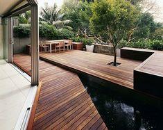 Love this deck Deck Colors, House Colors, Outdoor Seating, Outdoor Spaces, Outdoor Decor, Deck Makeover, Patio Deck Designs, Outside Room, Australian Garden