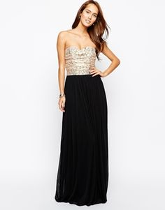 Rare Lace Bust Maxi Dress