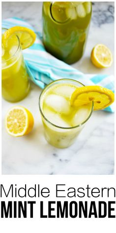A refreshing drink that's popular in Middle East and Mediterranean countries. It's easy to make in a blender and is a nice change of pace from traditional lemonades. This is a great as a non-alcoholic beverage but could easily become the base of a creative cocktail. My new go-to drink for the upcoming hot summer days!