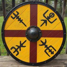 "Spartan Hunter on Instagram: ""King Harald Finehair's Viking shield"""