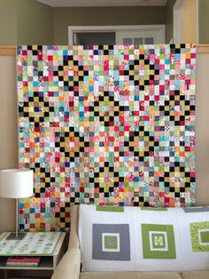 crazy mom quilts: finish it up Friday, 12/14/12