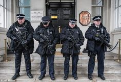 armed police 1 minute silence - Google Search