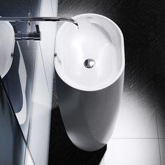Lave Mains Totem Nebulo Noir Toilettes Pinterest Totems