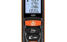 Suaoki D8 Télémètre Laser Numérique 4 Pouces Ecran LCD rétro éclair: HAUTE PRECISION: plage de mesure : 0,2 - 40 m vous permet d'une mesure…