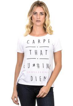 Camiseta Feminina Carpe That - Red Feather varejo