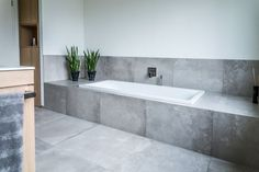 Wall Covering Bathroom Without Tile New Bathroom Without Tile Living Design - Swappingtons . Small Grey Bathrooms, Small Bathroom With Shower, White Bathroom, Bathroom Interior, Bad Inspiration, Bathroom Inspiration, Wall Cladding, Home Remodeling, Interior Design