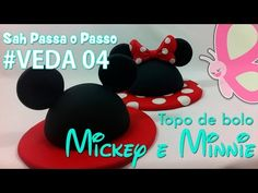 Como conseguir efeito 2D em Biscuit usando cortador - Mickey e Minnie - Sah passa o passo #VEDA 03 - YouTube