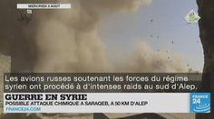 Soupçon d'attaque chimique en #Syrie, frappes américaines en #Libye, nouveaux tirs de missiles de la Corée du Nord, contamination à l'#anthrax en #Russie... Le point sur l'actualité en VIDÉO