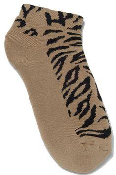 f179baa31d8 On the Tee Ladies Golf Socks  462 - Tiger Taupe
