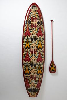 Oh, this old thing?  it's just a gorgeous $6,500 paddle board.  (i'd totally take up paddle boarding for this)