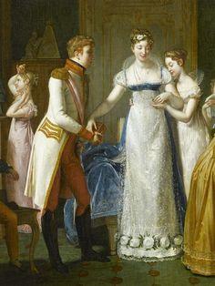 Pauline Auzou, née Desmarquets, Adieux de Marie-Louise à sa famille le 13 mars 1810, 1812