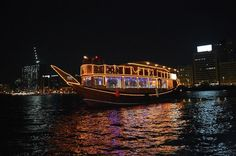 Dubai City Tour and Dhow Cruise Combo Explore the charming city of Dubai in a day with two exciting excursions, where you get views of the modern skyline, comprehensive infrastructure, brilliant attractions, glamorous shopping malls, fine dining and quality hotels. Dubai is easily one of the best places to visit in the world. The tour drives to Dubai Creek, Burj Al Arab (Photo stop), Atlantis the Palm, Burj Khalifa, Dubai Mall, Jumeirah Beach, and Sheikh Zayed Road and experie...