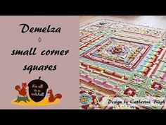 Demelza video tutorial – small corner squares | It's all in a Nutshell