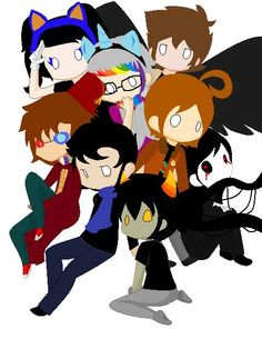 Fandomstuck (correct me if I'm wrong) Sonic, MLP, SPN, Dr Who, Hetalia, Sherlock, Creepypasta and Homestuck