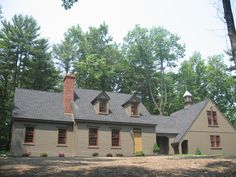 """A """"Classic Colonial Home"""" located in upstate NY. Considered an authentic reproduction style home."""