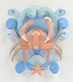 Helen Musselwhite — Cancer 'Happinez magazine',  2012  (464x523)