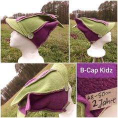 B-Cap Kidz for children, 1. Hand Polarstoff Unisex, Elegant, Christmas Stockings, Upcycle, Third, Cap, Hands, Holiday Decor, Children