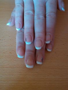 #French #manicure #simple