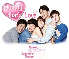 It's Okay, That's Love:  Whenever I need to study for Psy I would just watch this drama XD