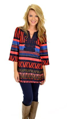 Brighten Your Load Tunic