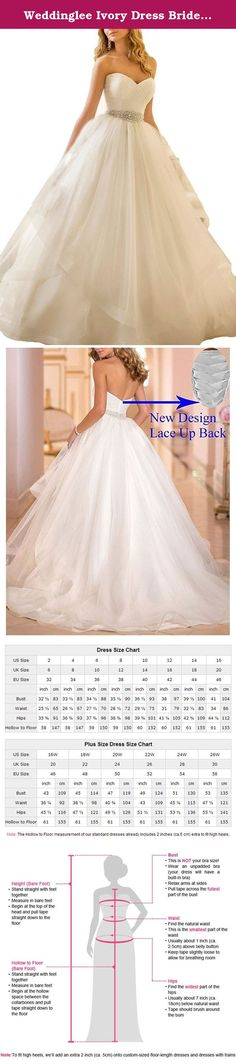 """Weddinglee Ivory Dress Bride Wedding Strapless Wedding Dress 2017 for Bride Ball Gown Beading Sash Bridal Size 22W. Weddinglee Ivory Dress Bride Wedding Strapless Wedding Dress 2017 for Bride Ball Gown Beading Sash Bridal Size 22W Weddinglee is a professional designer and manufacturer for wedding dresses and prom dresses and committed to providing each customer with the highest standard of customer service. We put """"Customer Satisfaction"""" into reality in the course of business, and into…"""