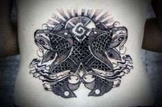 Koi Tattoo by David Hale