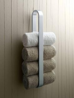 Bathroom, Awesome Towel Rack Ideas