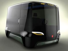Design Prague Taxi Car Concept