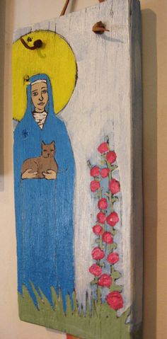 Patron Saint of Cats!