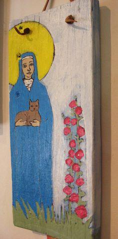 Patron Saint of Cats!